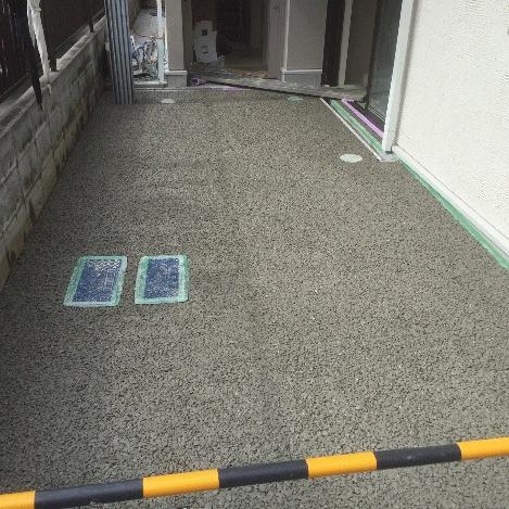 アプローチ透水性舗装ドライテック エクステリア外構 材料・施工