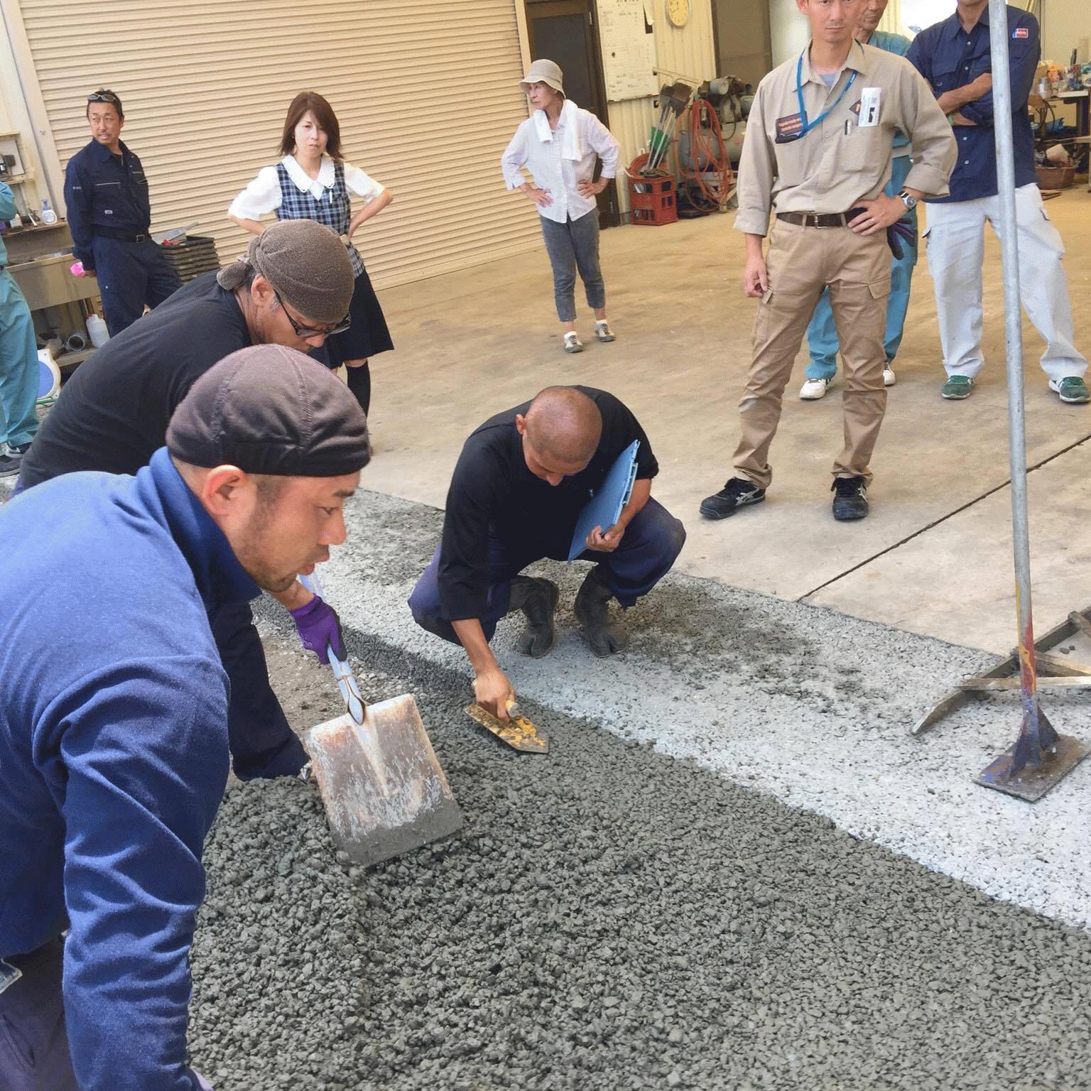 「小規模透水性コンクリート全国対応について」 道路・コンクリート舗装・透水・価格