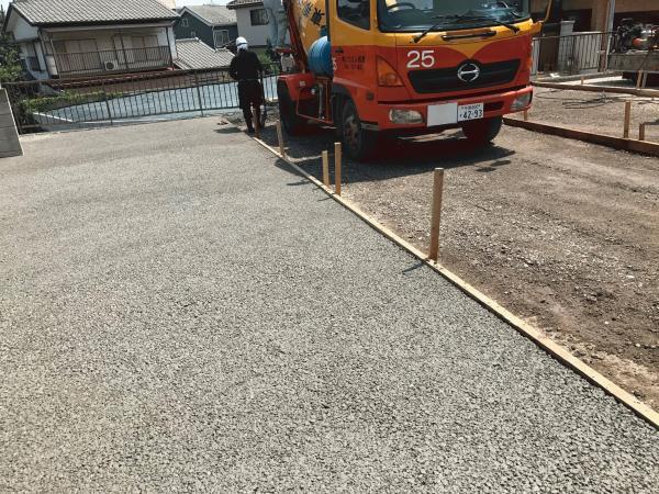 「目潰れのしない 自社で施工できる」 駐車場・排水・目潰れ・透水・コンクリート・土間コン