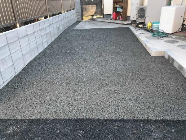 「排水を気にしなくてもいい」 土間コン・東京・駐車場
