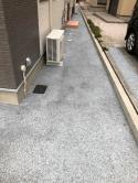 「森山精二さんの働きぶり」 水はけ・駐車場・犬走・土間コン
