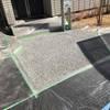「アースカラーが人気」 水はけ・たわみ・駐車場・エクステリア・土間コン