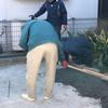 「これは冬場にいいなあ」 香川・土間コン・冬・仕上げ