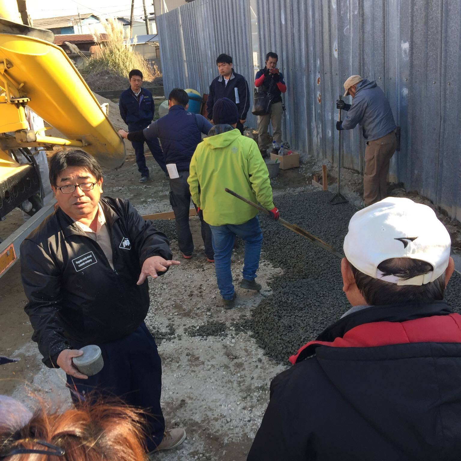 「故郷沼津でも新時代の土間コン」 静岡・見学会・透水・エクステリア