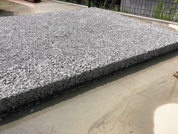 「ドライテック展示作らない? 透水性コンクリート」