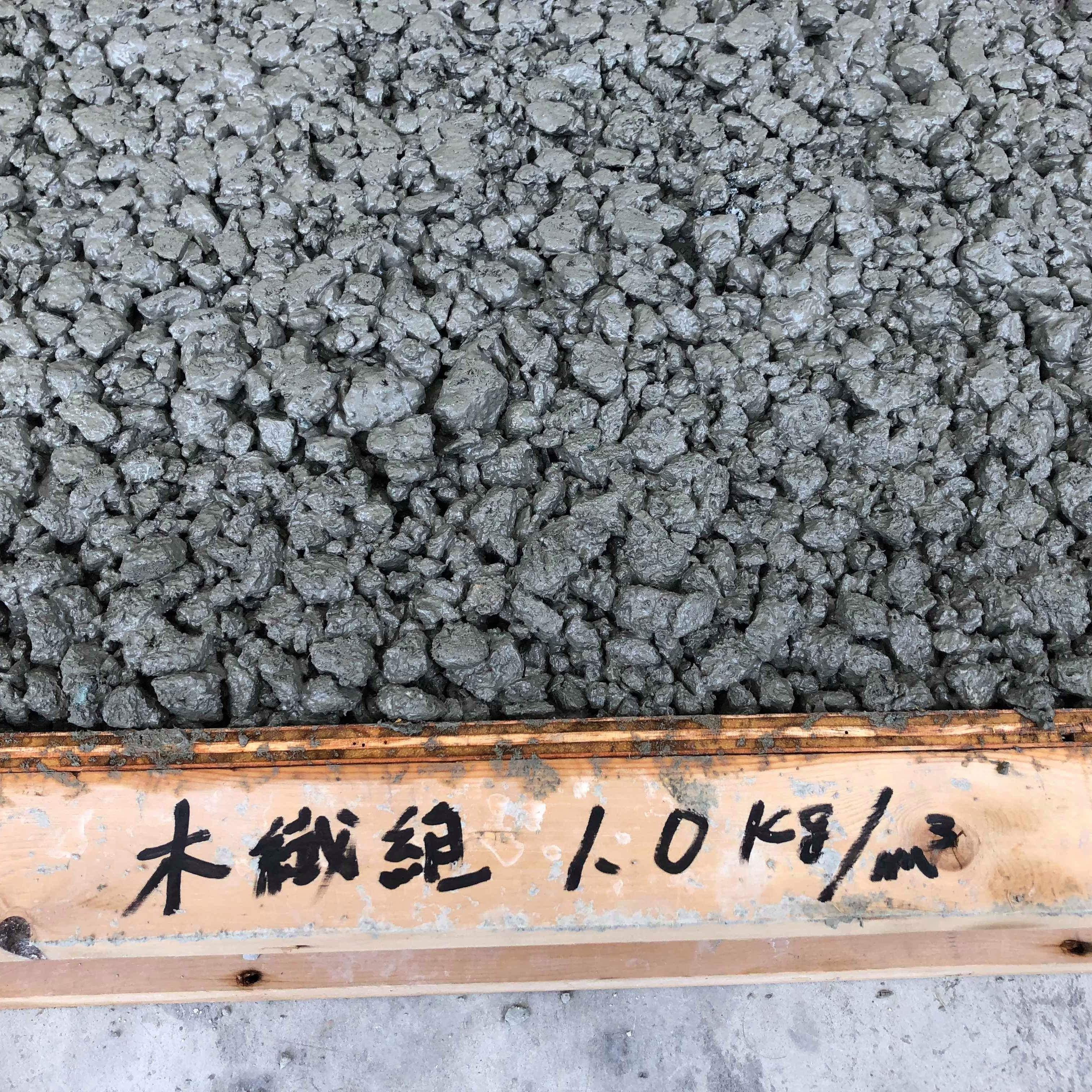 「住友林業の木質繊維入り透水性コンクリート|夕方から打てる土間コン」