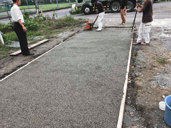 「やっぱりまさつぐの方がすごい|透水性コンクリート」