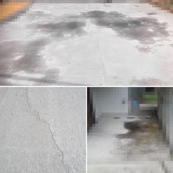 土間コンクリートの【クレームあるある】【3大がっかり】ひび割れ、色むら、水たまり