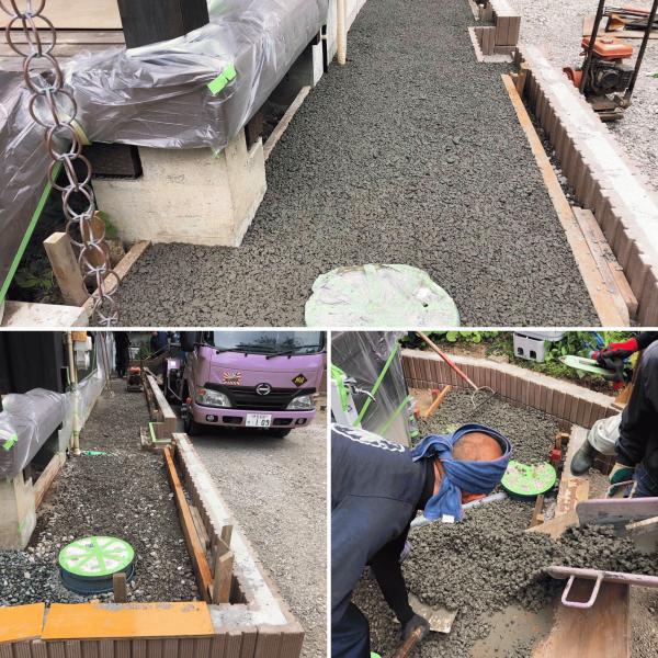 【鎌倉】「めっちゃ狭い住宅地でも問題ない」今はまだ【普通の生コン】じゃない透水性コンクリートはいつか必ず標準になる