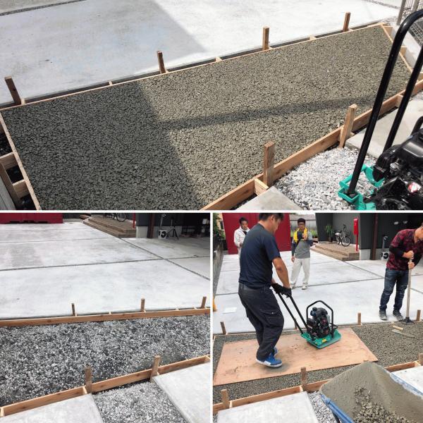 【栃木】雨水浸透ますの代わりに一部透水性コンクリートという選択肢