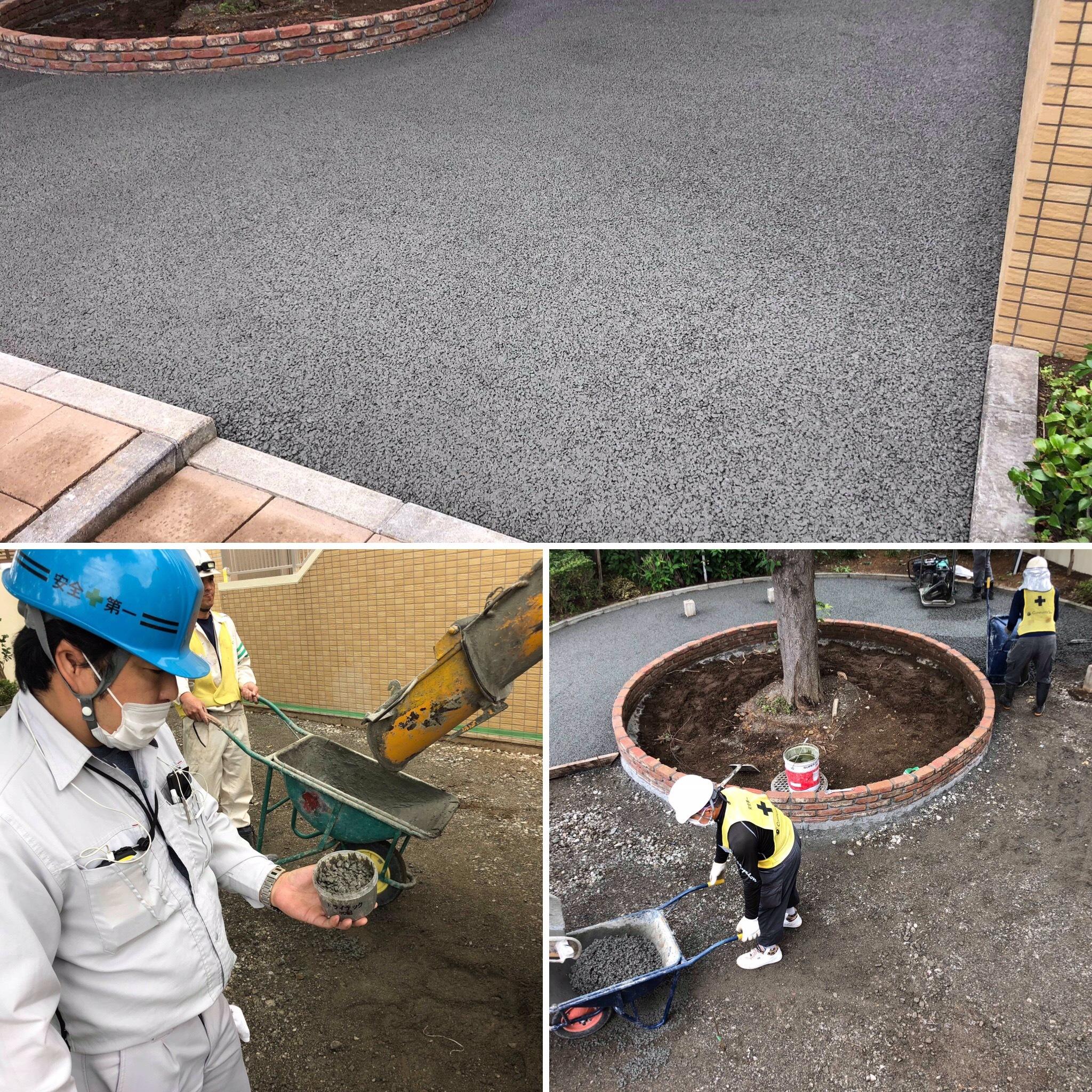 【埼玉】「マンション管理にアスファルトなんてもう古い?」ぼろぼろになった舗装の修繕工事にも透水性コンクリートのワケ