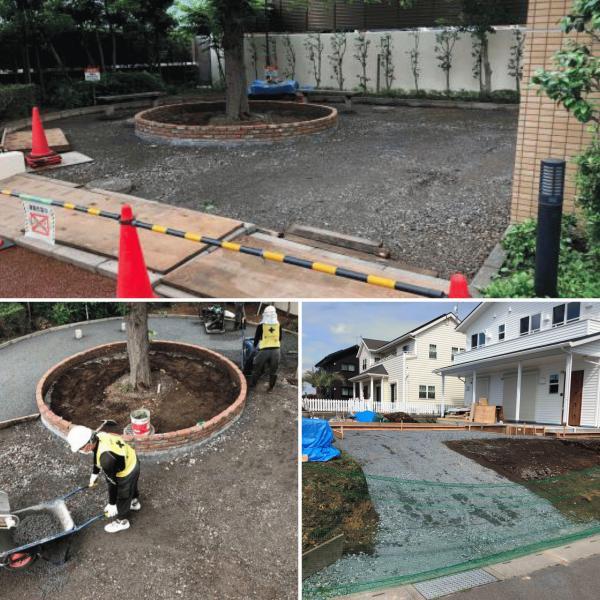 【施工者】にとって「アスファルトではなく透水性コンクリートにするメリットって何?」【共同住宅】外構工事