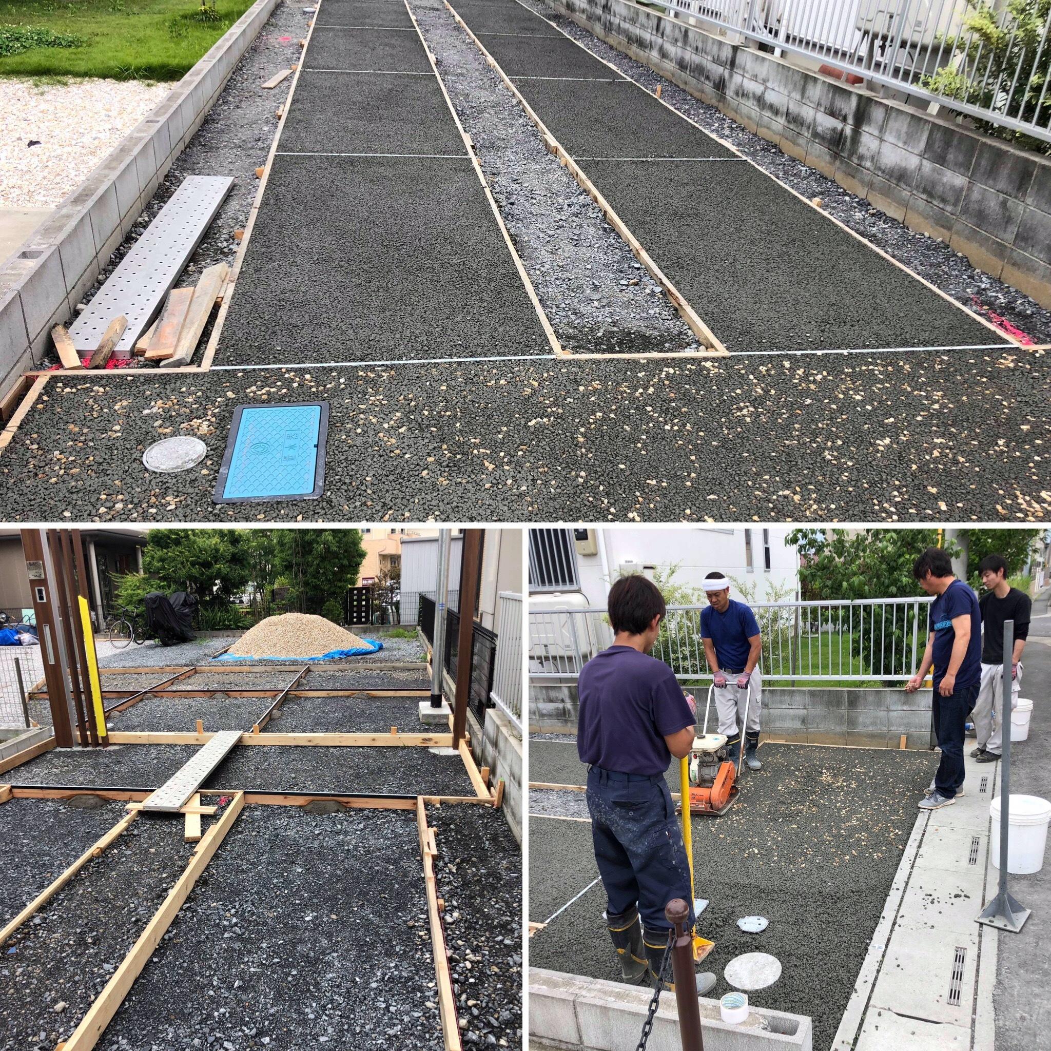 【埼玉】「土間コンクリートではありふれている」2つのシマを自由に行き来できる舗装