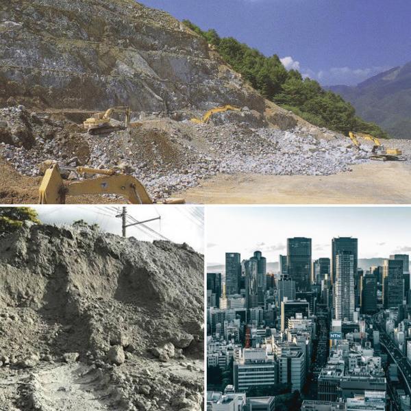 大地を、削らない・汚さない・再生する、CO2を固定化する【生コン】の仕事