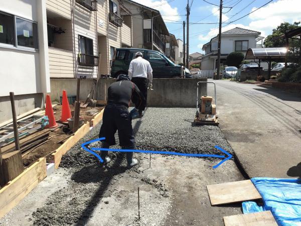 「施工フロントを広げるな!」誰でも簡単に【透水性コンクリート】を施工するコツ