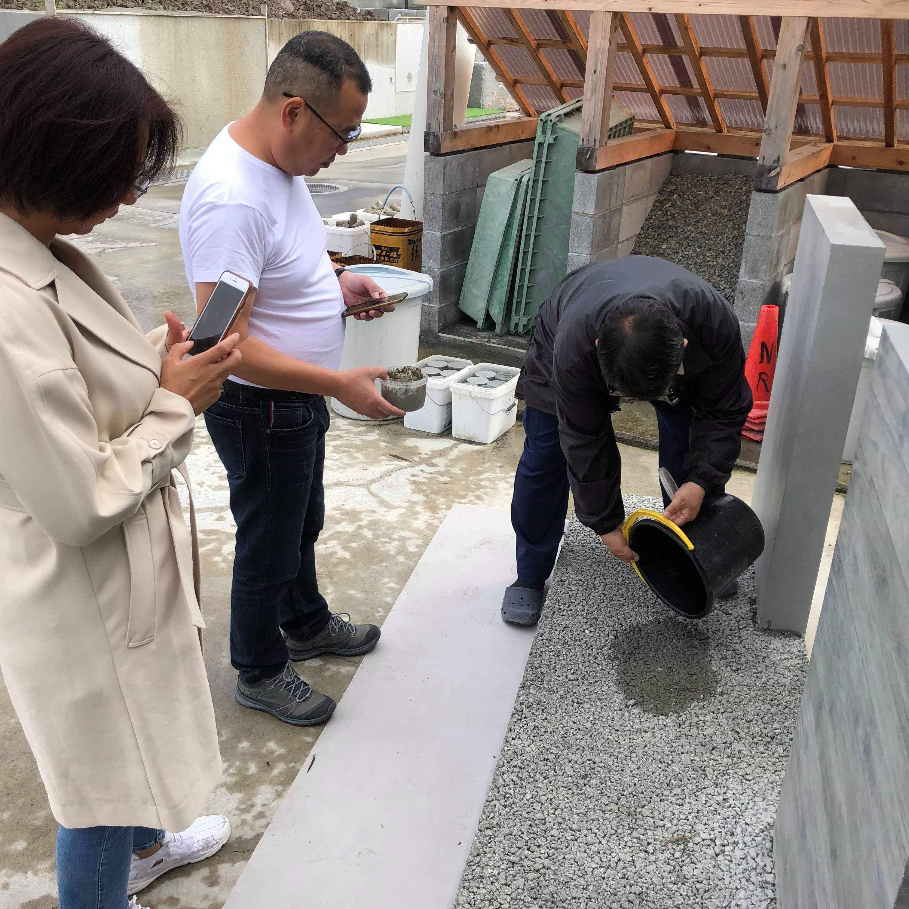 「洪さんが訪問したその日に透水性コンクリートは出荷されていた」環境生コン先進国(その8)