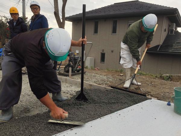 【福島】「木と生きる幸福」住友林業の透水性コンクリート本格始動