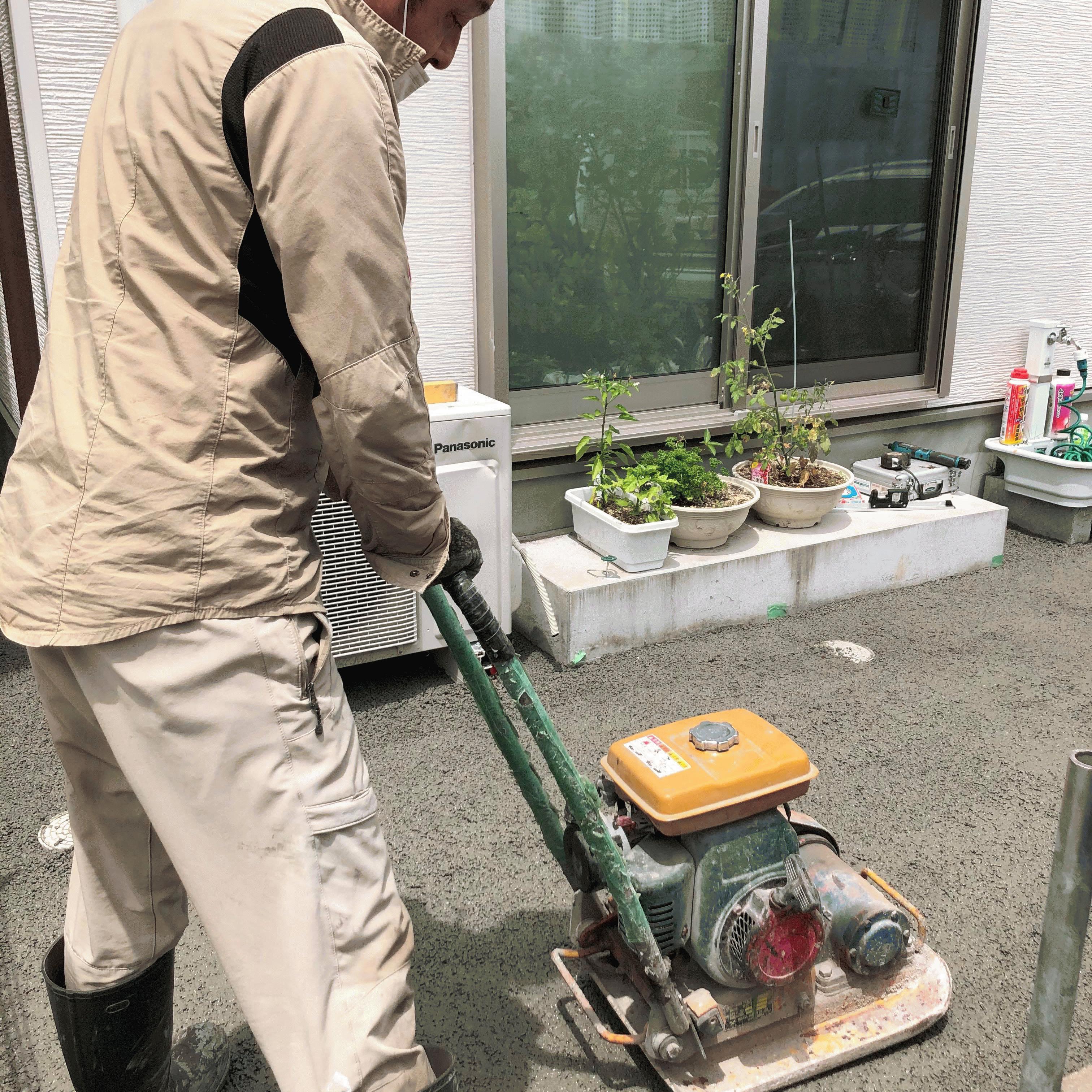 【静岡】《透水讃歌》「草を抜いた人じゃないとわかんないよこの辛さは」DIY・土間コン