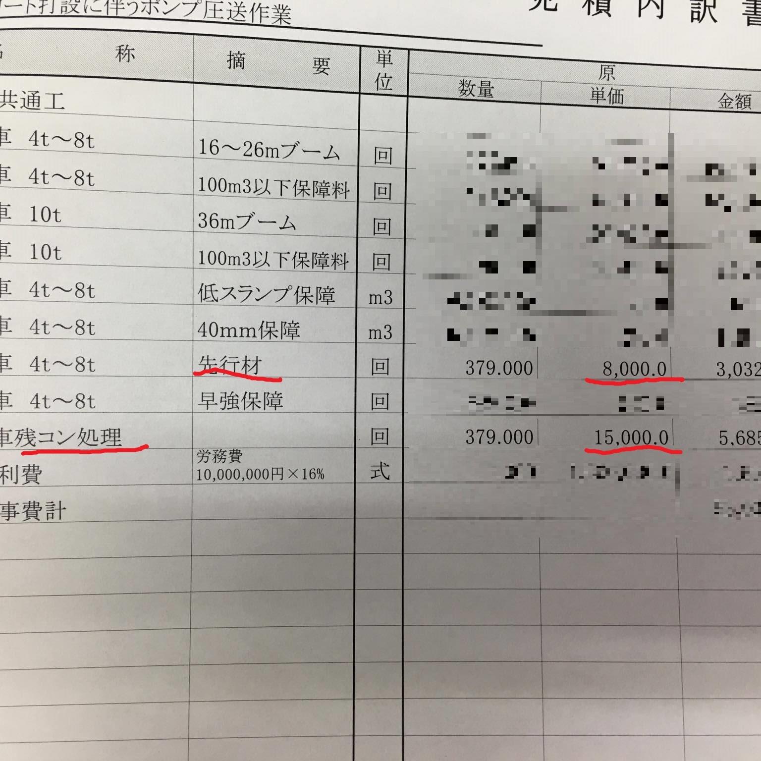 「さすが、新幹線。」 残コン処理・仕様書・福井・価格・残コン