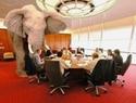 「部屋の中の象」 残コン・スラッジ