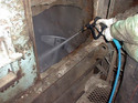 「終業時のミキサー洗浄飛躍的短縮」 3K・就業・ミキサー洗浄・時間短縮・効率化・残コン・IWA・R2