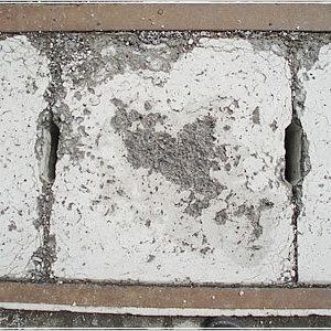 コンクリート春のポップアウト祭りにならないために。コンクリート打ち放し表面凍結凍害