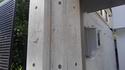 コンクリート色合わせ補修、外構でピンホールが群発。「コンクリートのゲップ」