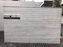 「何の変哲もないブロック塀」 杉板・浮造り・高級