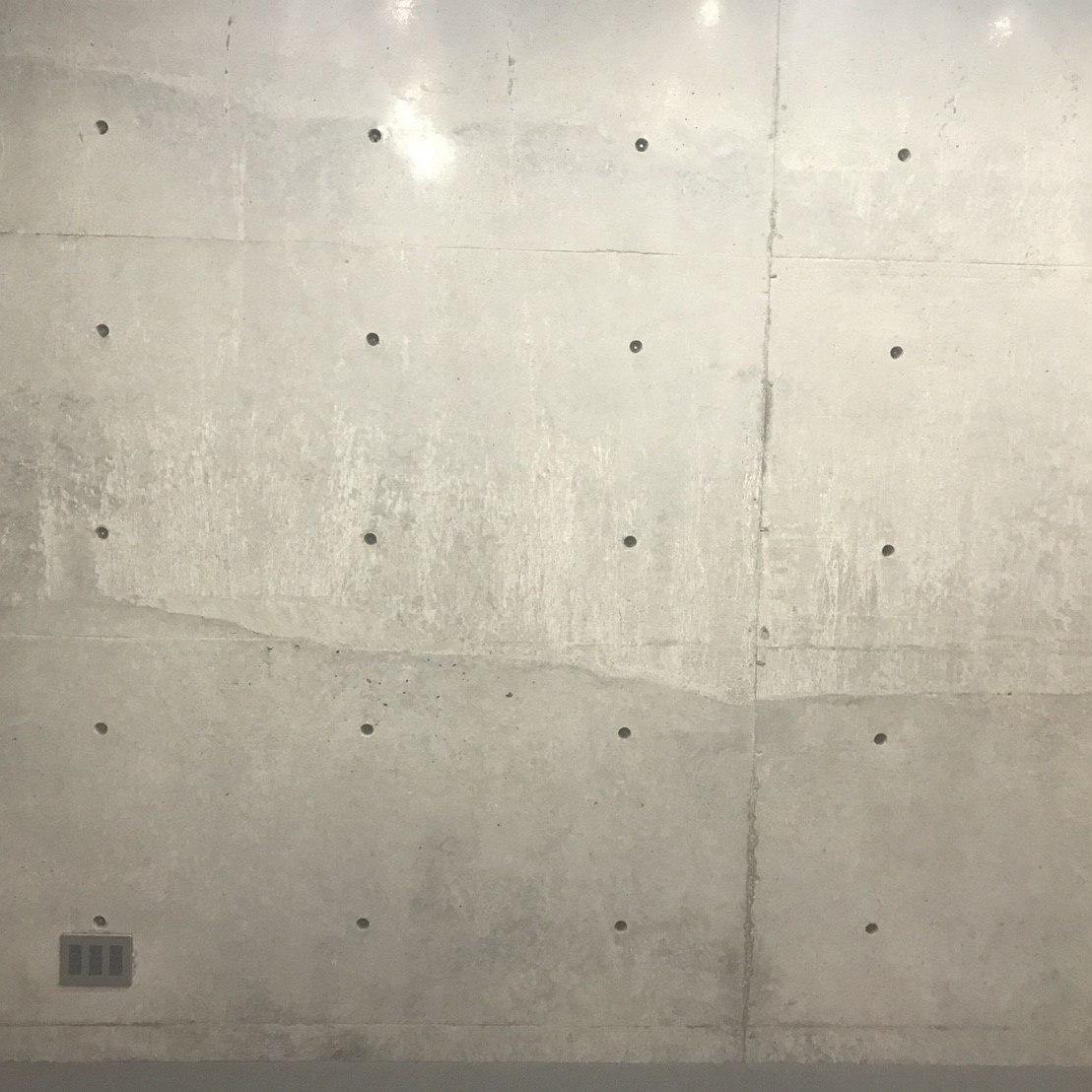 東京都パネコート打ち放し打継内装補修工事