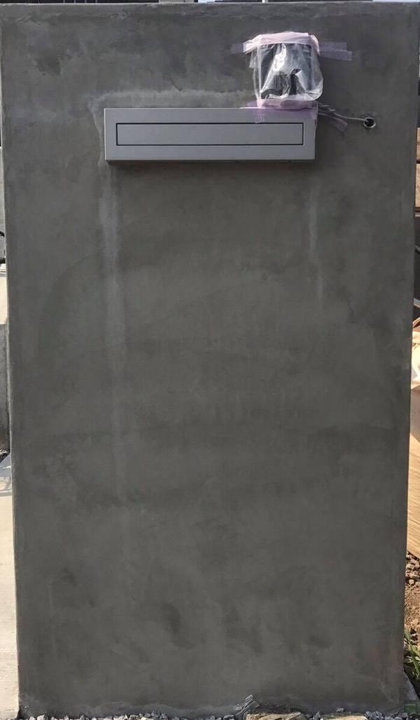 「家全体がどのような印象を見る者に与えるか」 門塀・打ち放し・杉板・コンクリート・仕上げ・CBRC