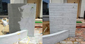 「コンクリートケアサービス 月刊色合わせ補修 Vol.5」 コンクリート・打ち放し・補修・ジャンカ・色合わせ・ぼかし