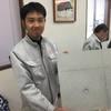 「あきよし川端工業色合わせ」 体験会・福井・コンクリート打ち放し・色合わせ