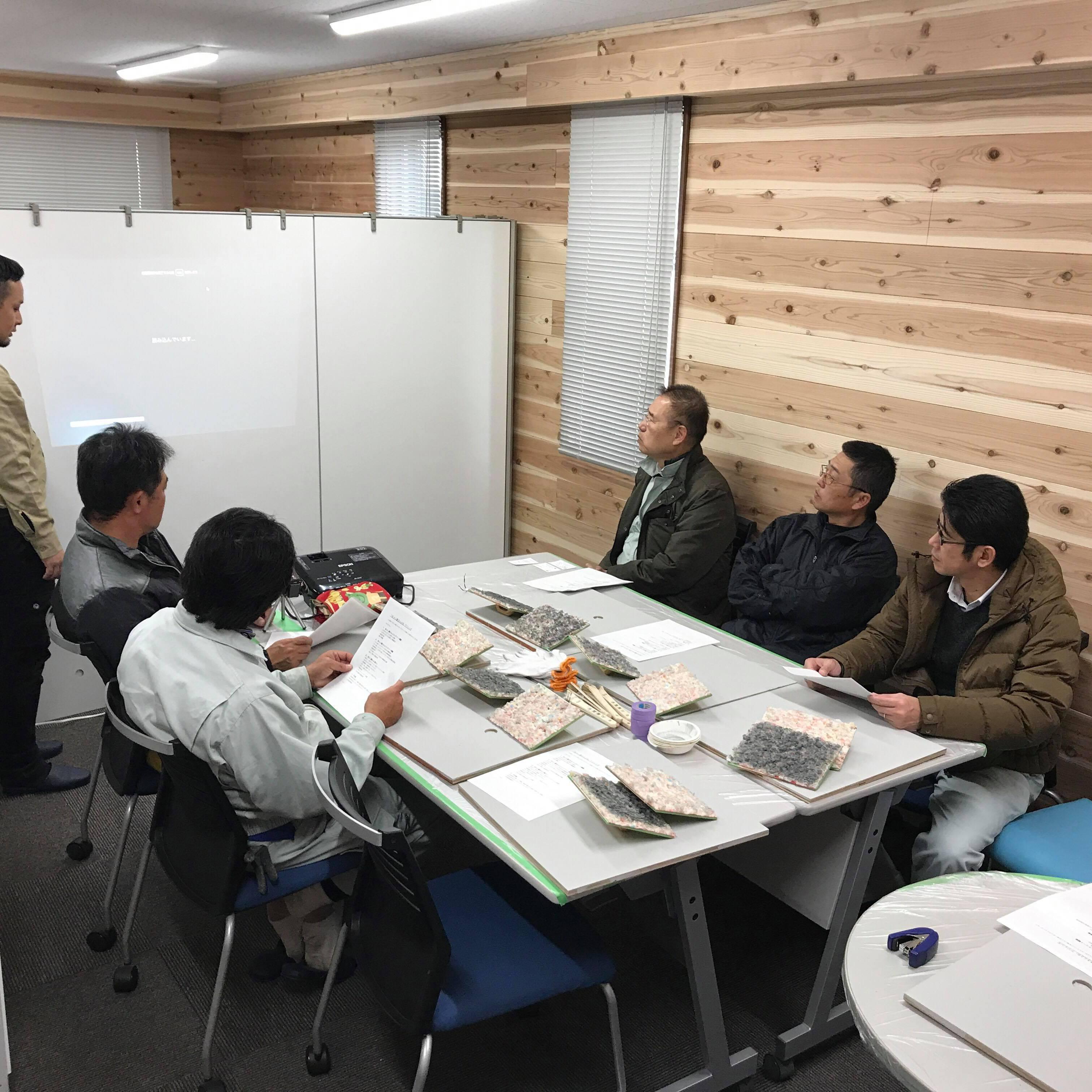 「コンクリート色合わせ補修の事業領域」 愛知・コンクリート打ち放し・色合わせ・体験会