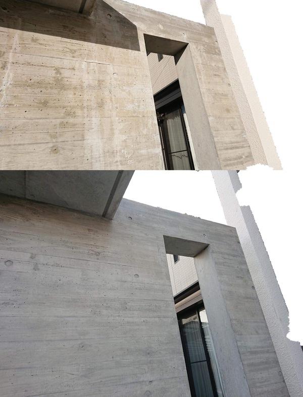 「やりっぱなしコンクリート」 価格・杉板・打ち放し・色合わせ