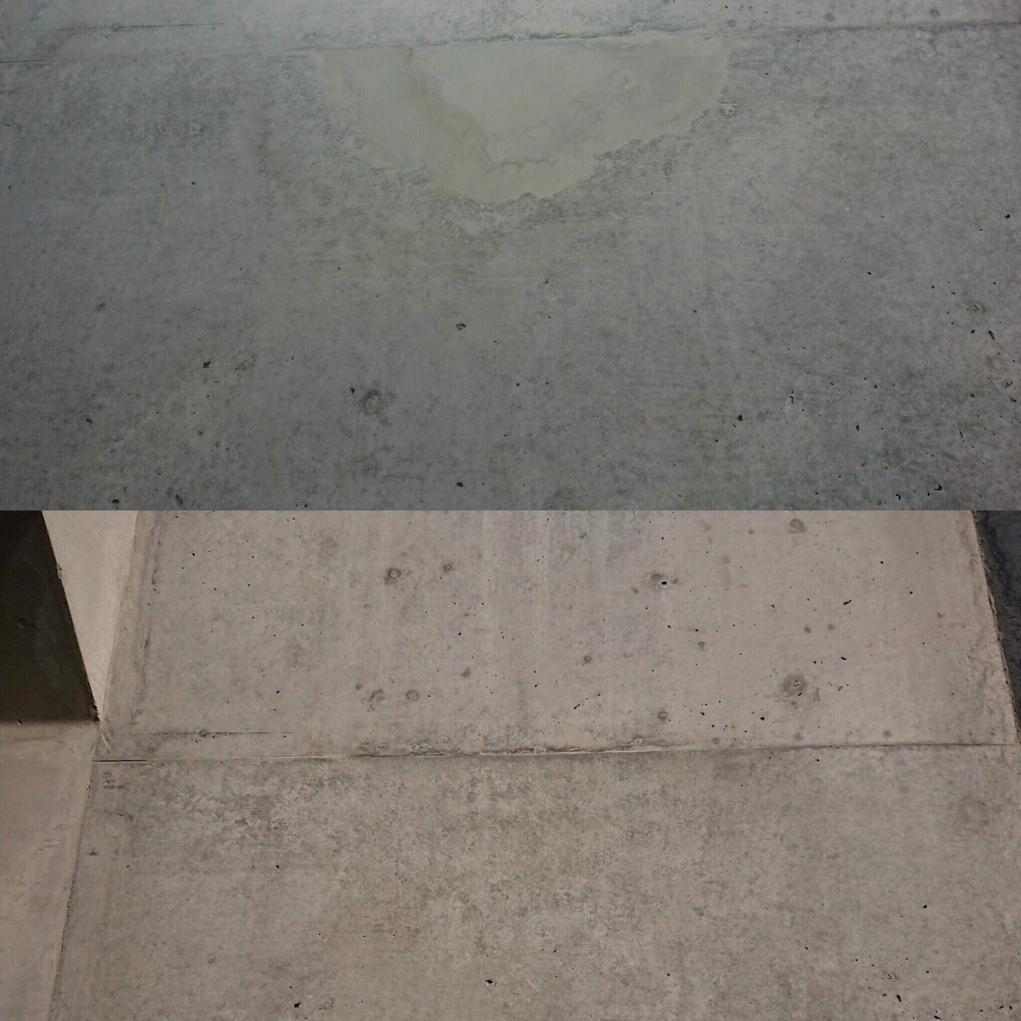 「コンクリート打設は失敗がつきもの|打ち放し色合わせ」