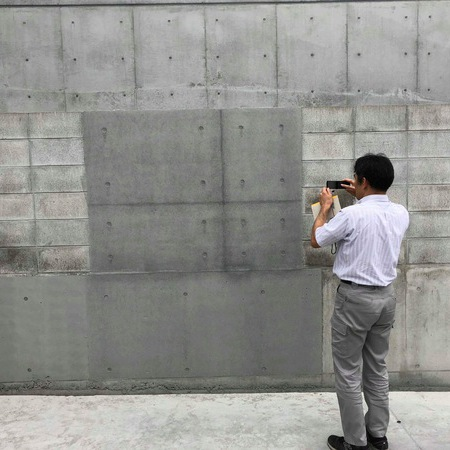 「【脱補修】打ち放しブロック塀工法はポジティブな色合わせ!|月刊色合わせ補修 Vol.17」