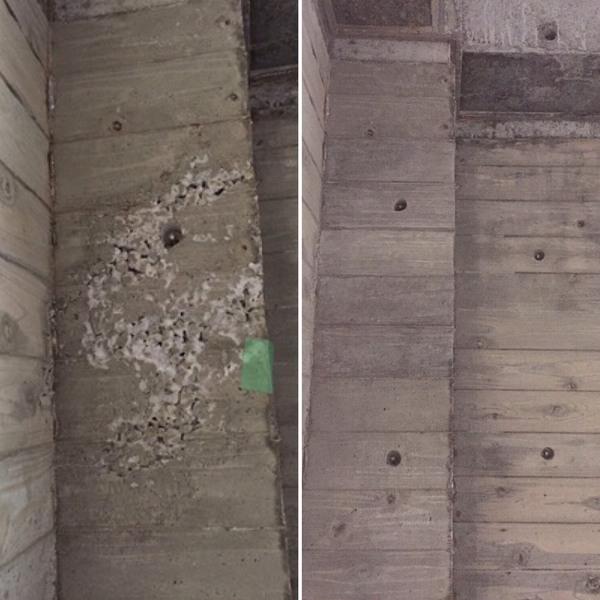 「せっかくの杉板仕上げに...!!」そのジャンカ、綺麗にしてみせまショウ!|杉板・浮造り・ジャンカ・補修・打ち放し