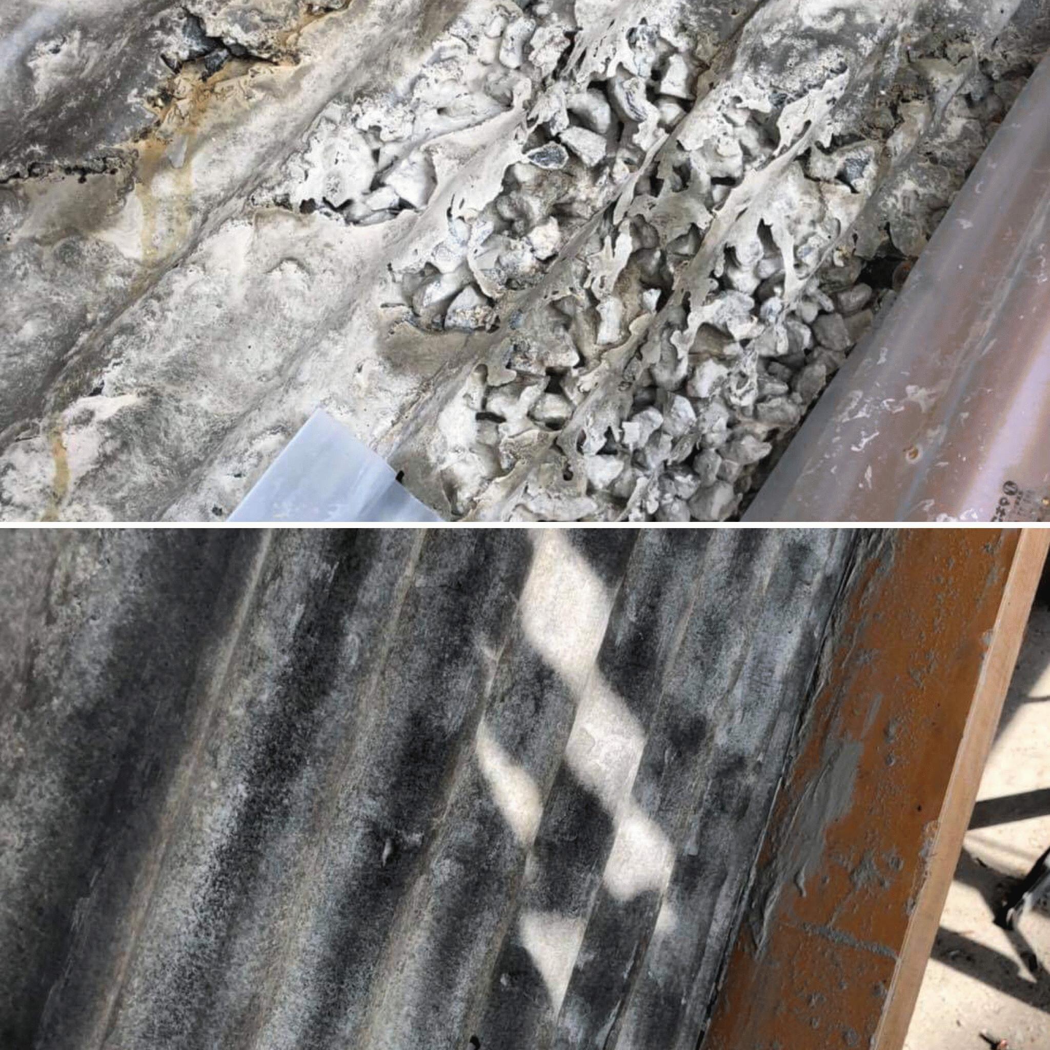 【岡山】特殊型枠に打設した打ち放しコンクリート補修痕をどのようにケアするのか?