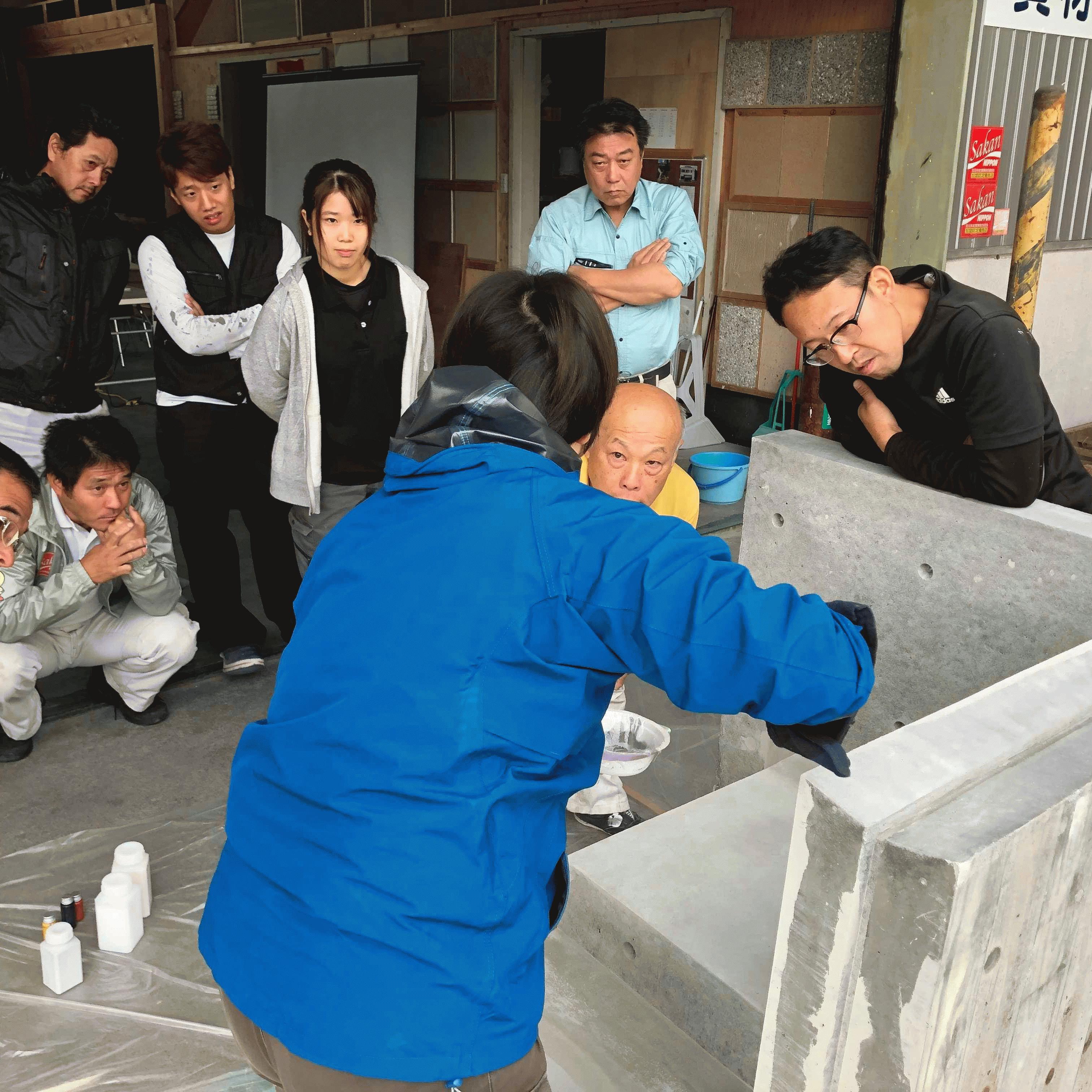 【岐阜】「色合わせの業者には煮湯を飲まされた」プロ集団小倉左官店との連携(その2)