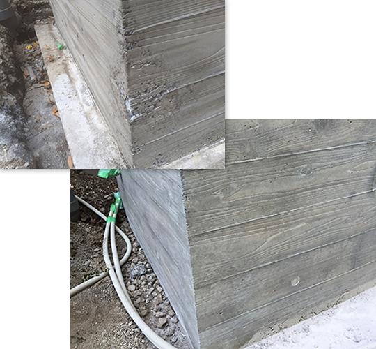 個人邸 杉板うづくり模様 150平米