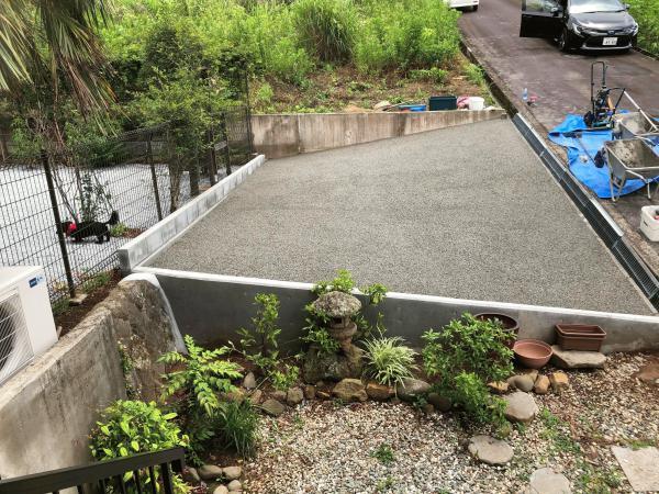 【静岡】「え?まだ普通の土間コン?」「これからはスーパー土間コンでしょ!」段付き・排水設備追加工事・雑草対策