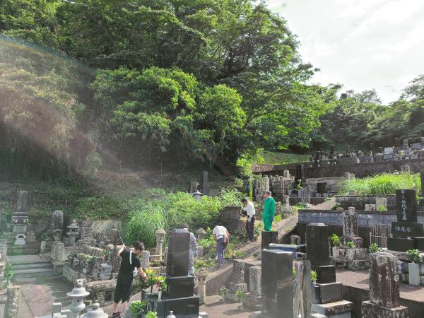 「お墓の施工で《超常現象》?!」お盆休み・お墓参りの風物詩に終止符を打つ #3(番外編)
