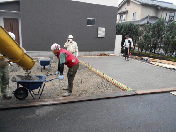 【岐阜】「舗装(土間)は建物(家)と同じくらい目立つ」視野専有率・勾配・平ら・トップコート #1