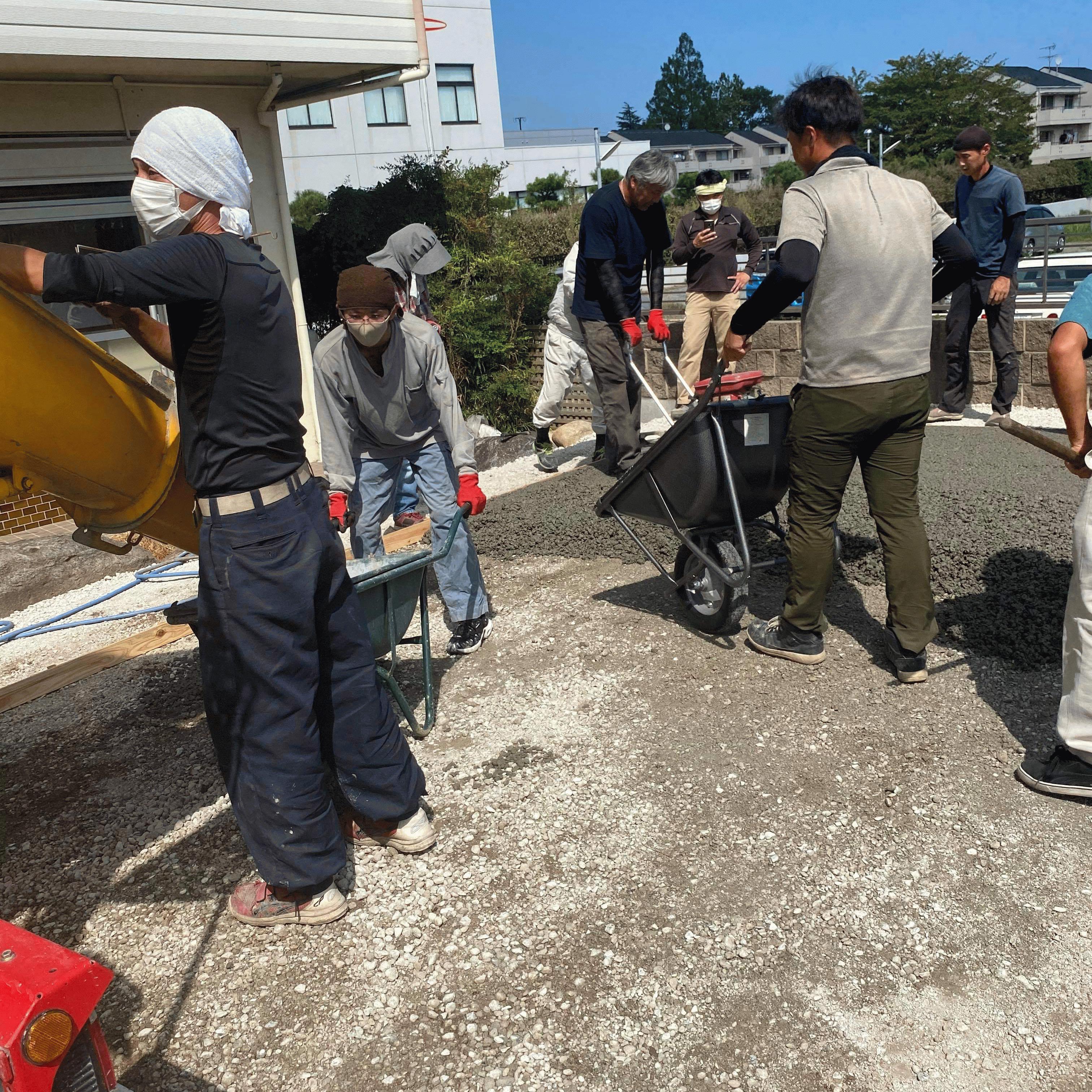 【茨城】「このところ施主からの問い合わせが増えてきた透水性コンクリート