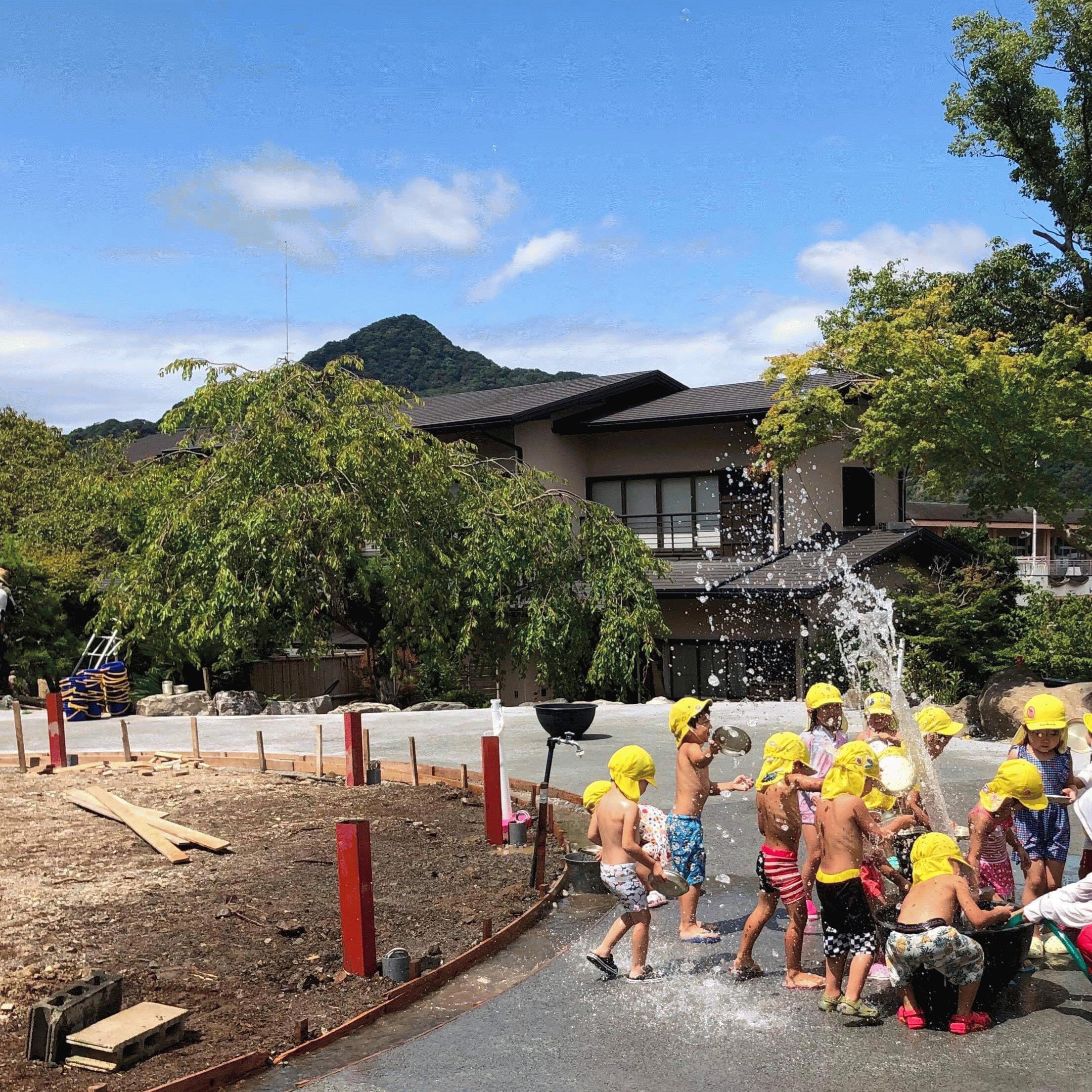 【静岡】「こどもたちによる《水遊び》はそのまま環境温度の低減という《貢献》に」正蓮寺・しょうれんじこども園 #4