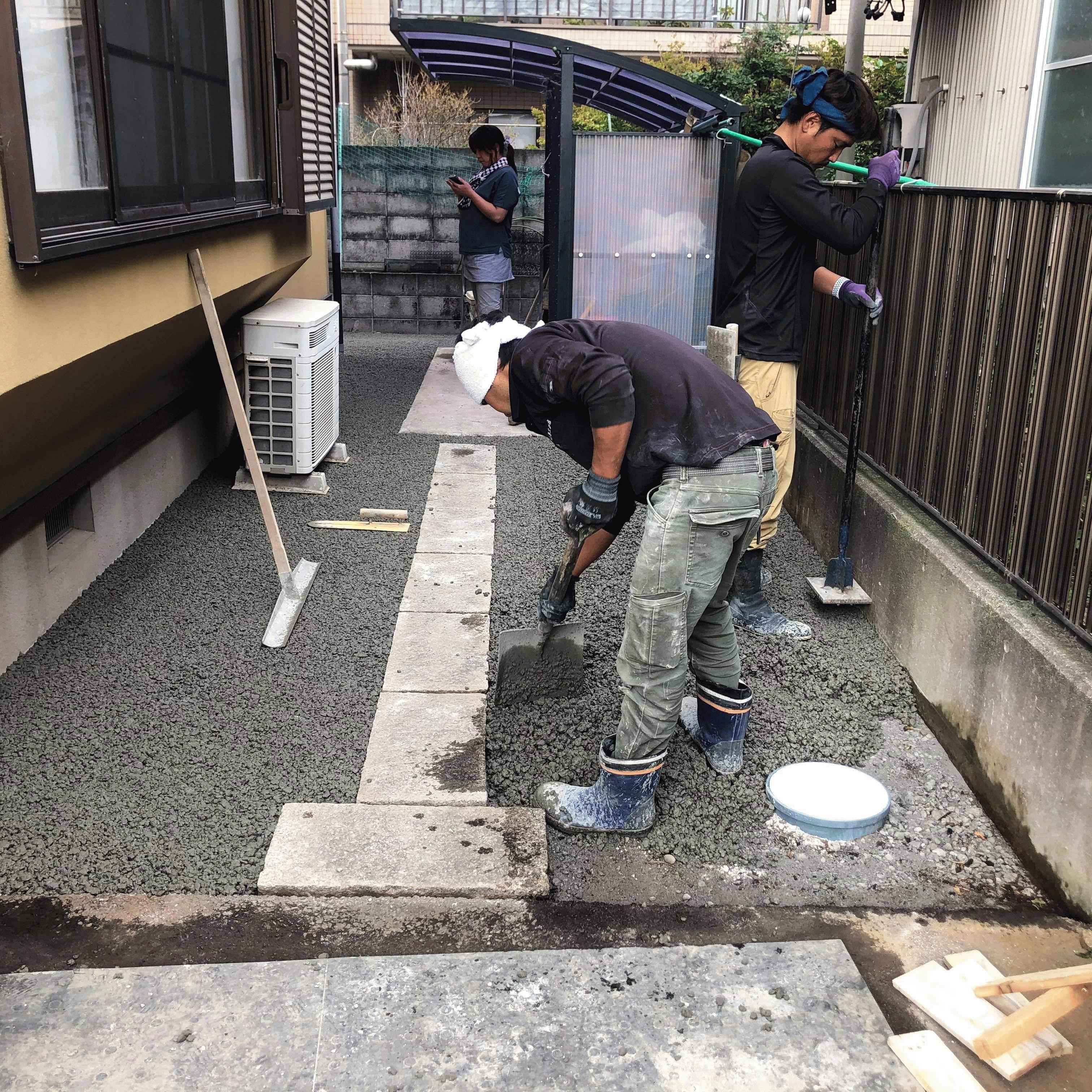 【静岡】「施主が《草むしり》に苦しむか、施工者が《水じまい》に苦しむか」石原工務店