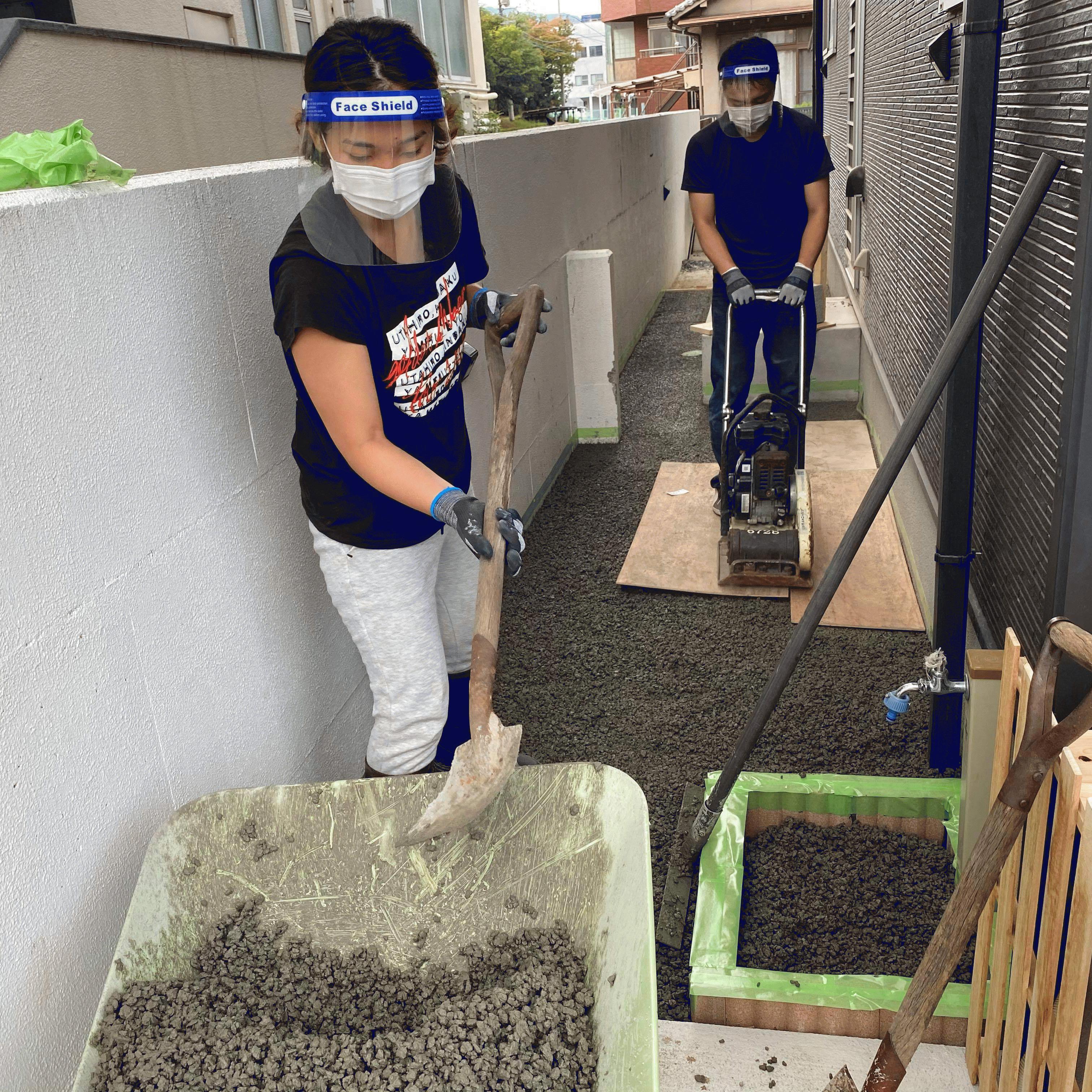 【広島】「そんなに難しくなく楽しく施工できました」DIY供給体制・エクスショップ