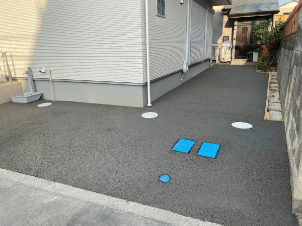 【埼玉】「防滑(ノンスリップ)効果こそ透水性コンクリートの真の価値?」渋谷建材