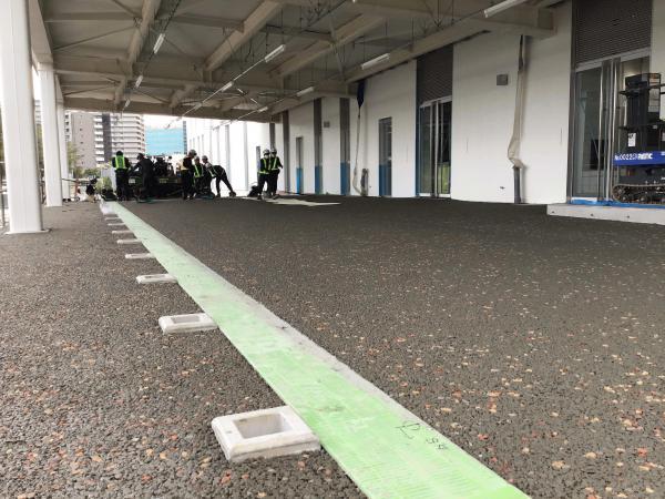 【東京】《隈研吾》「東洋大学赤羽キャンパスがいよいよ始まった」前田道路・岡庭建材工業