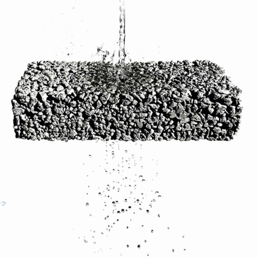 「ドライテックを施工した後の道具を簡単にきれいに洗い流す方法」化学混和剤